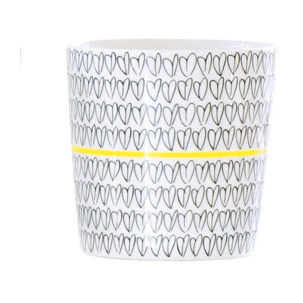 Kubek Heart Mug Yellow