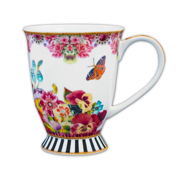 Kubek porcelanowy Melli Mello Flowers, 150 ml