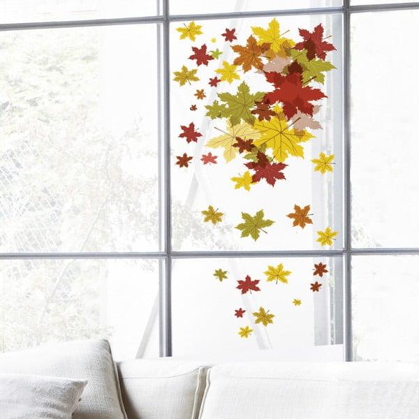 Naklejka na okno Autumn Leaves
