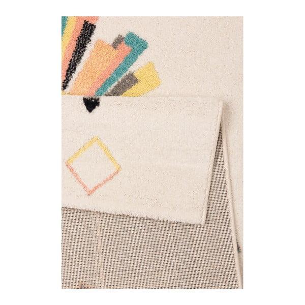 Beżowokremowy dywan dziecięcy Hans Home Lion, 120x170 cm