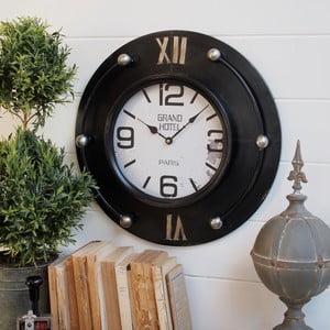 Zegar ścienny Big Clock Black