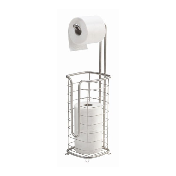 Stojak na papier toaletowy z koszykiem Forma Ultra