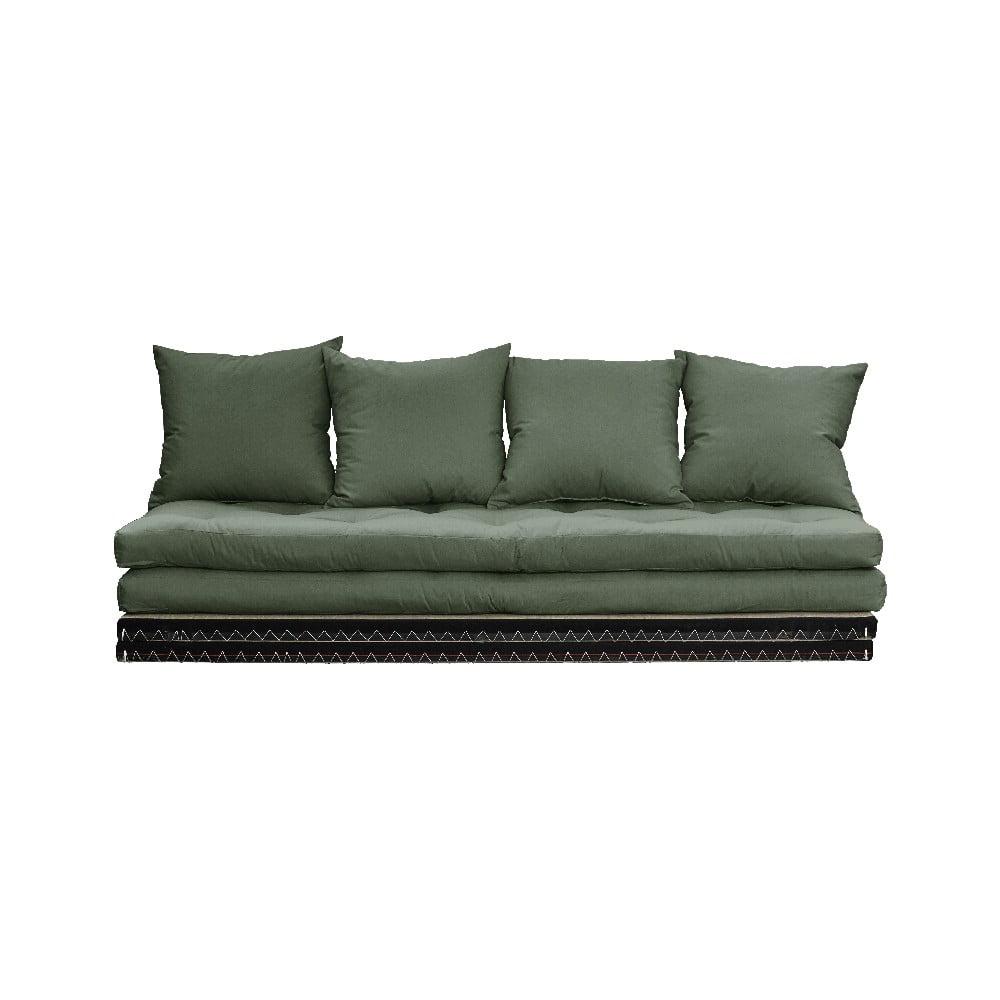 Sofa rozkładana Karup Design Chico Olive Green