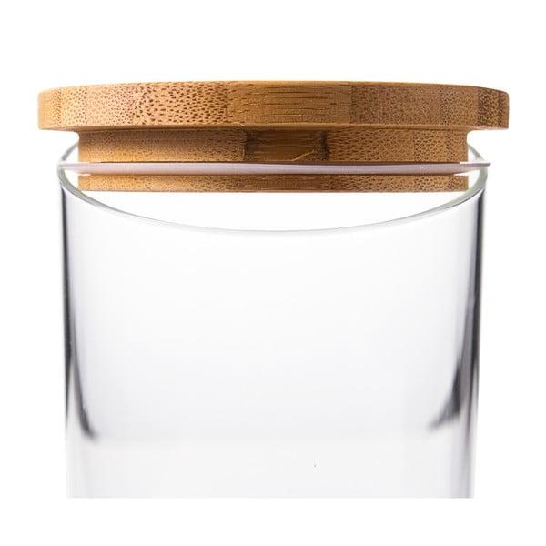 Szklany pojemnik Krauff Glass, 23 cm