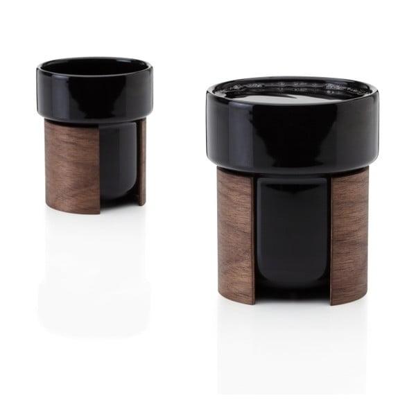 Zestaw kubków Warm Black Walnut, 24 cl, 2 szt.