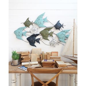 Dekoracja naścienna Fish Pannel Ocean Blue