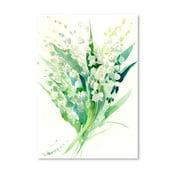 Plakat Valley Lilies (projekt Suren Nersisyan)