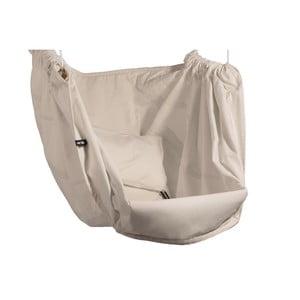Kremowy fotel wiszący z bawełny dla dorosłych Hojdavak Maxi