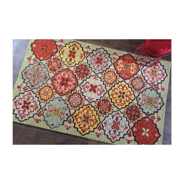 Wełniany dywan Lisboa Multi, 160x230 cm