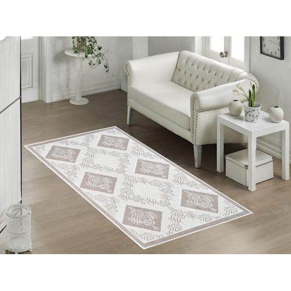 Beżowy wytrzymały dywan Vitaus Azalea, 140x200 cm