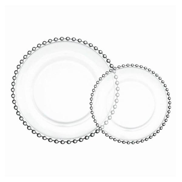 Zestaw 4 talerzy Pearls
