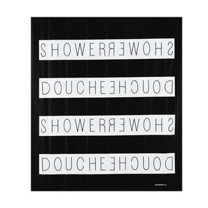Zasłona prysznicowa Shower Noir, 200x180 cm