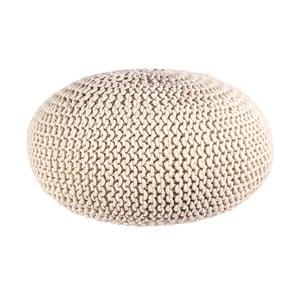 Puf Interccio Sand, 80x35 cm