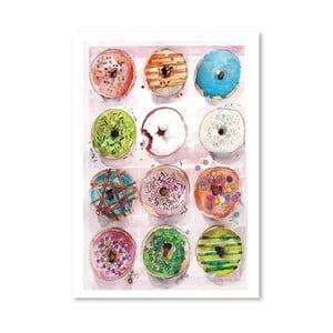 Plakat Donuts, 30x42 cm