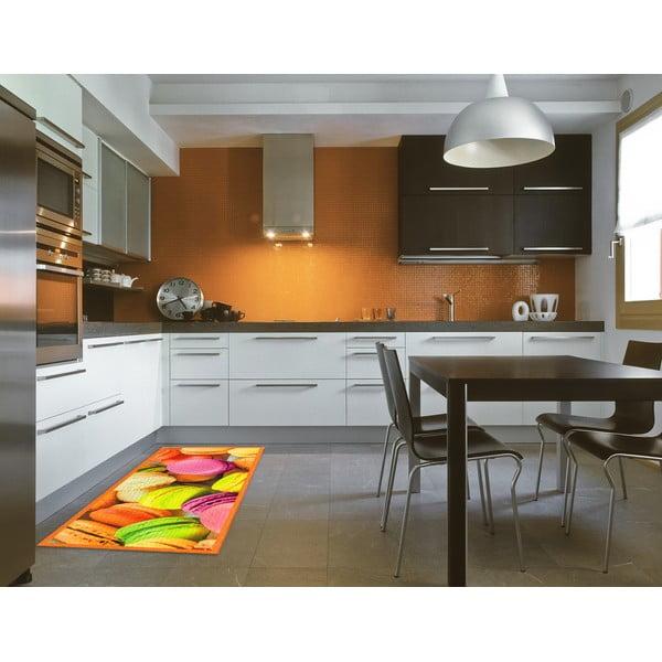Wytrzymały dywan kuchenny Webtapetti Macarons, 60x190 cm
