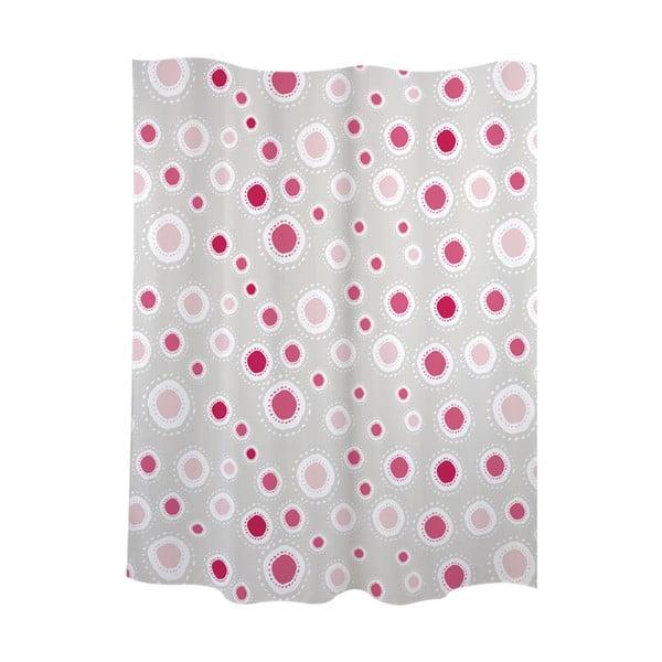Zasłona prysznicowa Suns Pink
