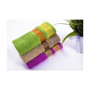 Zestaw 3 ręczników Truva V3, 30x50 cm