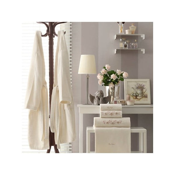 Komplet męskiego i damskiego szlafroka i 4 ręczników Isabella