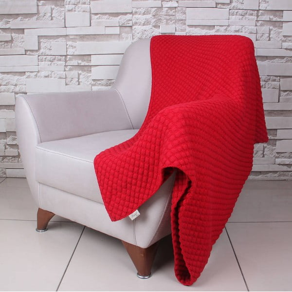 Koc Ciana Red, 130x170 cm