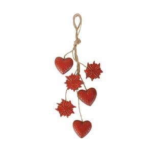 Dekoracja wisząca Antic Line Hearts