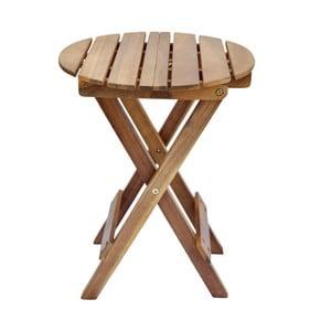 Okrągły stolik z drewna akacjowego SOB Garden