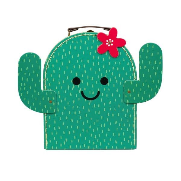 Dziecięcy kuferek Sass & Belle Happy Cactus