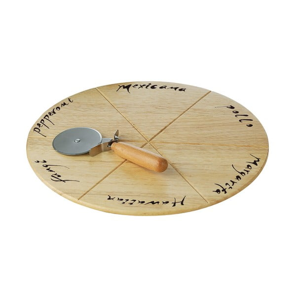Zestaw do pizzy Premier Housewares, deska i nóż