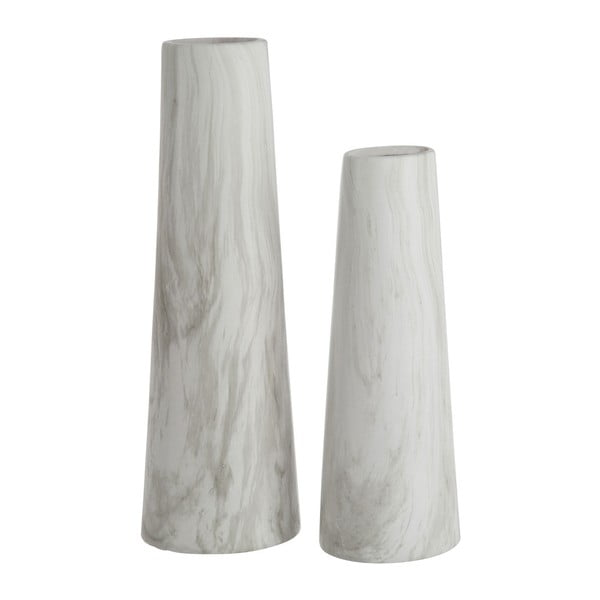 Wazon Cylinder White, 36 cm