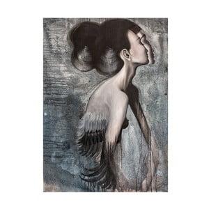 Autorski plakat Lény Brauner Panna Rakatamizau, 45x60 cm