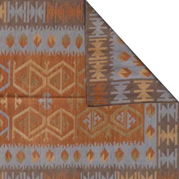 Dywan ręcznie tkany Kilim No. 726, 155x240 cm