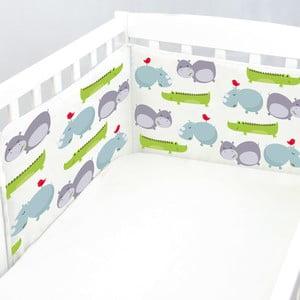 Ochraniacz do łóżeczka Hippo, 70x70x70 cm