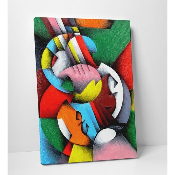 """Obraz na płótnie """"Świat kolorów"""", 50x70 cm"""