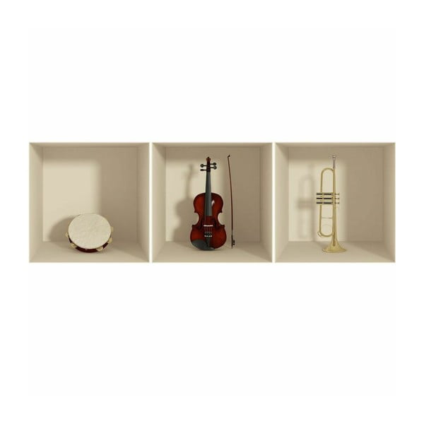Naklejka Musical Instruments