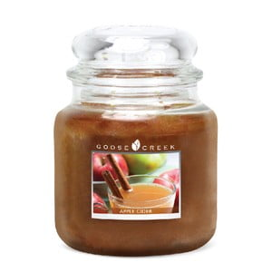Świeczka zapachowa w szklanym pojemniku Goose Creek Cydr jabłkowy, 0,45 kg