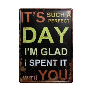 Tablica Perfect Day, 30x40 cm