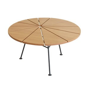 Brązowy stolik OK Design Bambam, Ø70cm