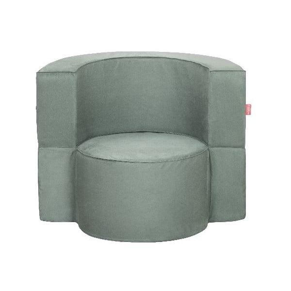 Fotel rozkładany Macaron, szary