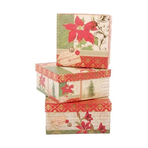 Zestaw 3 pudełek Red Star