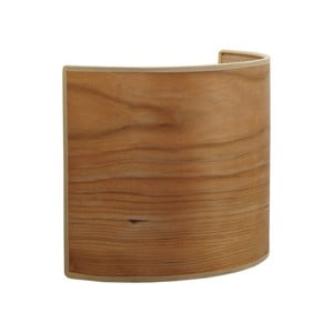 Kinkiet w kolorze drewna wiśniowego Sotto Luce TSURI