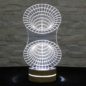 Lampa 3D stołowa Tunnel
