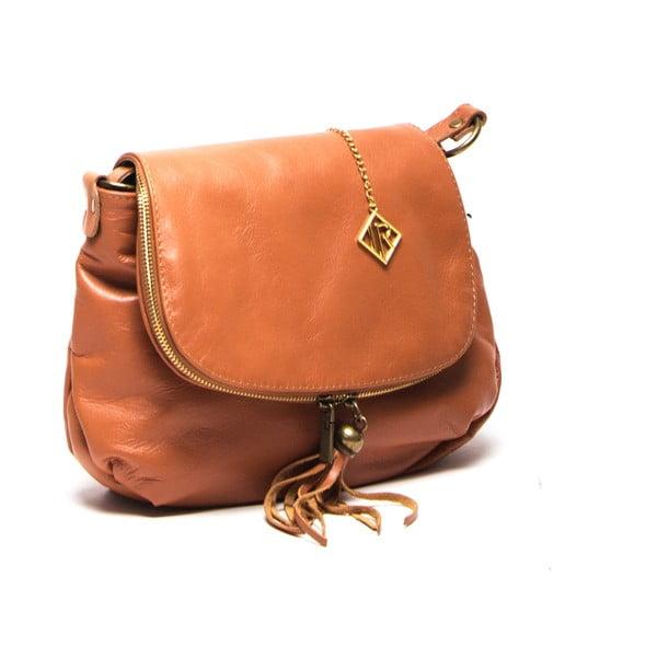 Skórzana torebka Isabella Rhea 2052 Cognac