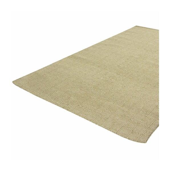 Ręcznie tkany dywan Kilim Dimond Olive, 100x150 cm