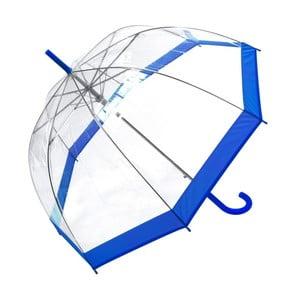 Parasol z niebieskimi detalami Transpo