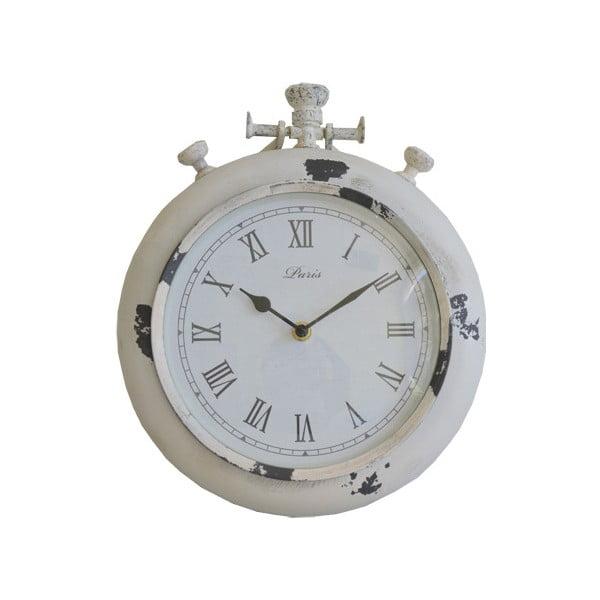 Zegar ścienny Retro, biały
