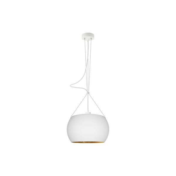 Lampa MOMO, opal matte gold/whitew/white