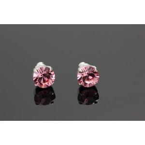 Kolczyki Swarovski Elements Rosa