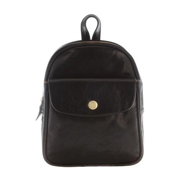 Skórzany plecak Eliza Black