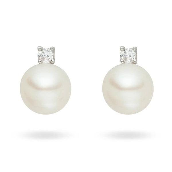 Kolczyki Nova Pearls Copenhagen Silvia White