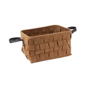 Brązowy koszyk PT LIVING Storage, dł. 38 cm