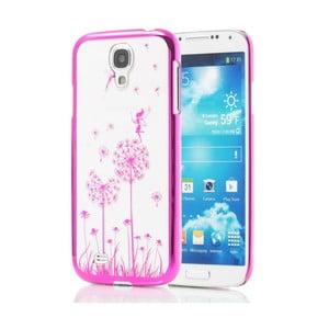 ESPERIA różowe etui z dmuchawcem na Samsung Galaxy S4